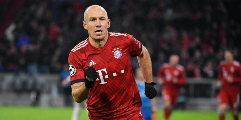 Photo of Pamit Musim 2018/2019 Arjen Robben Rindu Sepak Bola
