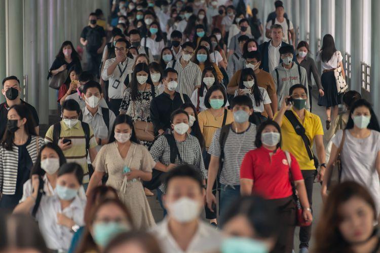 Padatnya Ibukota selama Pandemi
