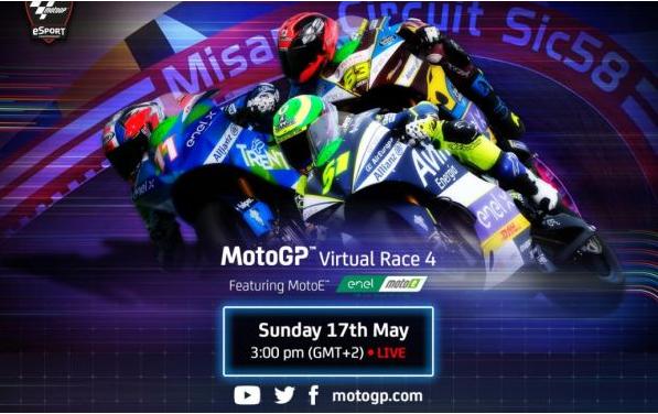 Valentino Rossi dan Marc Marques Juara MotoGP Virtual 1