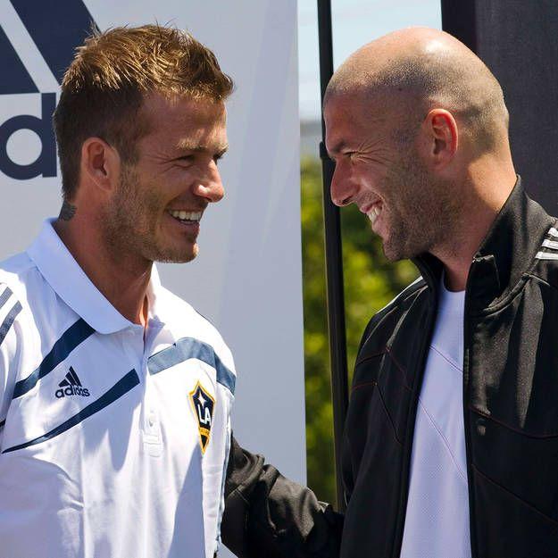 Photo of 2 Legenda David Beckham dan Zinedine Zidane yang Saling Puji