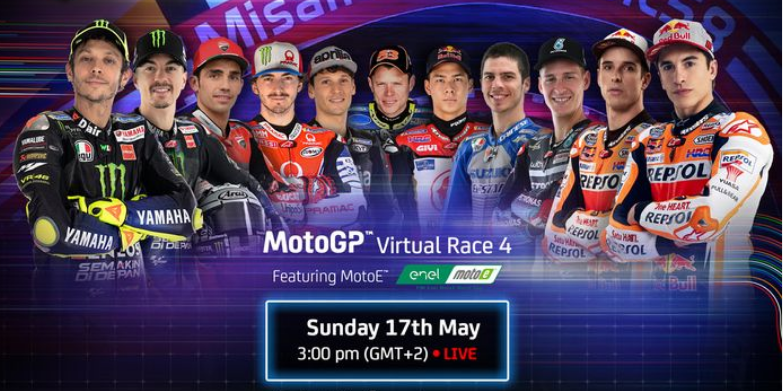 MotoGP Virtual Race Ngebut di Sirkuit Misano