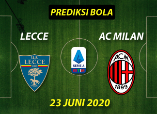Prediksi Bola Lecce vs AC Milan 23 Juni 2020 Serie A