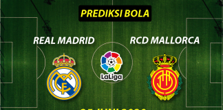 Prediksi Bola Real Madrid vs Mallorca 25 Juni 2020 La Liga