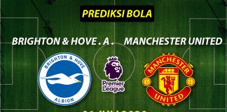 Prediksi Bola Brighton vs Manchester United 1 Juli 2020 Liga Premier Inggris