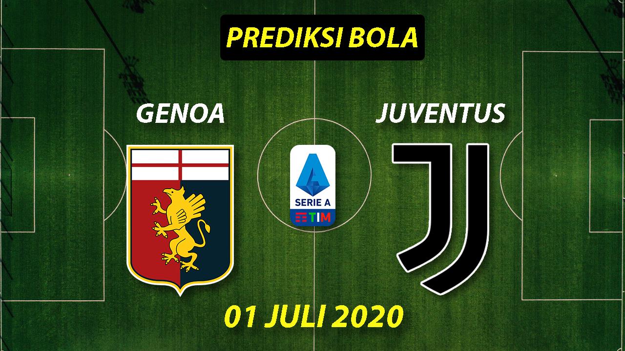 Photo of Prediksi Bola Genoa vs Juventus 1 Juli 2020 Serie A