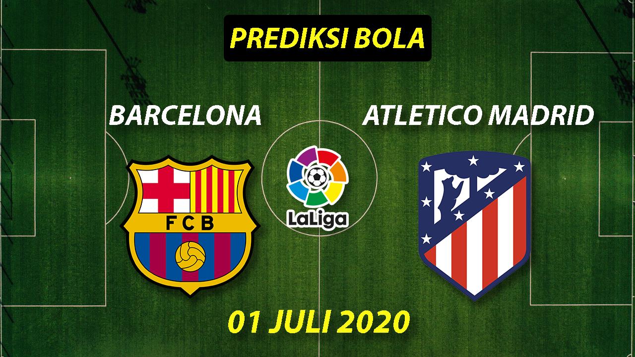 Photo of Prediksi Bola Barcelona vs Atletico Madrid 01 Juli 2020 La Liga
