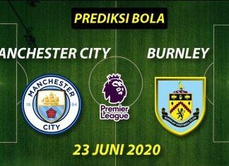 Prediksi Bola Manchester City vs Burnley 23 Juni 2020 Liga Premier Inggris