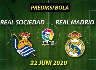 Prediksi Bola Real Sociedad vs Real Madrid 22 Juni 2020 La Liga