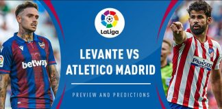 Prediksi Bola Levante vs Atletico Madrid 24 Juni 2020 La Liga