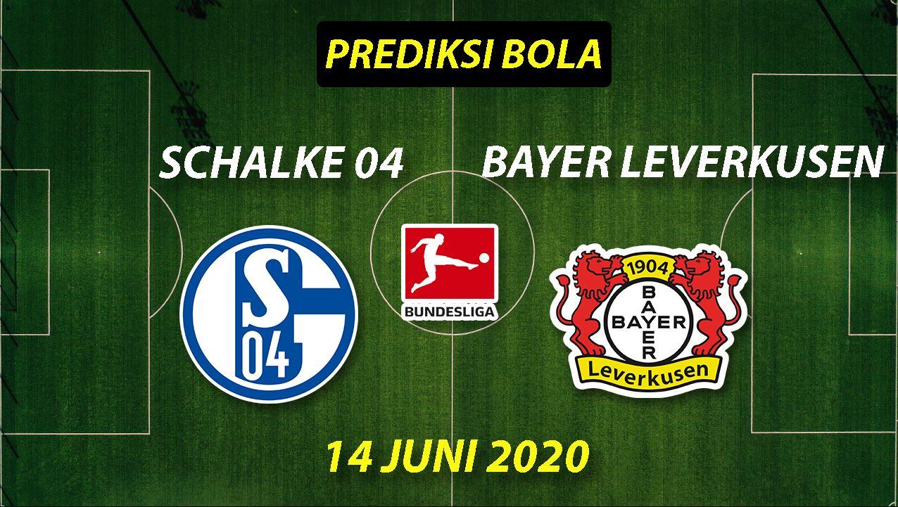 Prediksi Bola Schalke 04 vs Bayer Leverkusen 14 Juni 2020 Bundesliga