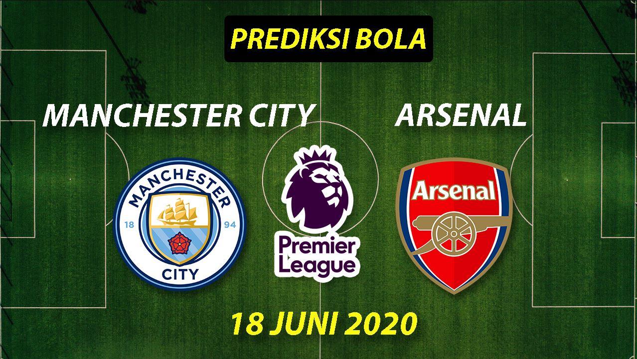 Photo of Prediksi Bola Manchester City vs Arsenal 18 Juni 2020 Liga Premier Inggris