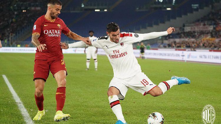 Milan vs Roma, Peringkat 7 vs 5 Liga Italia