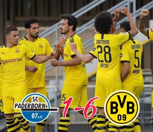 Borussia Dortmund Pesta Gol, Jadon Sancho Mencetak Hat-Trick