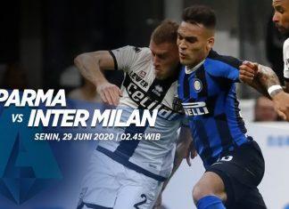 Susunan Pemain Inti Parma dan Inter Milan