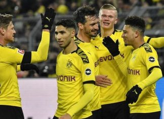 Susunan Pemain Dortmund Vs Hertha Berlin