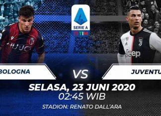 Prediksi Bola Bologna vs Juventus 23 Juni 2020 Serie A