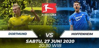 Prediksi Bola Borussia Dortmund vs Hoffenheim 27 Juni 2020 Bundesliga
