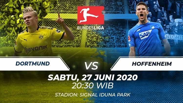 Photo of Prediksi Bola Borussia Dortmund vs Hoffenheim 27 Juni 2020 Bundesliga