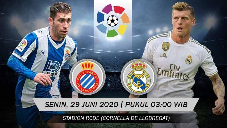 Prediksi Bola Espanyol vs Real Madrid 29 Juni 2020 La Liga