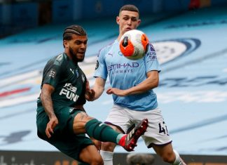 Liga Inggris Duel Man City vs Newcastle
