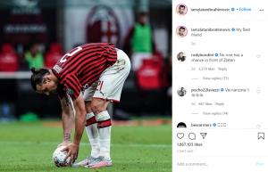 Zlatan Ibrahimovic Berikan Ancaman Kepada Timnya 2
