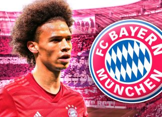 Leroy Sane Resmi ke Bayern Munchen