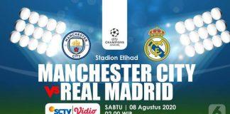 Prediksi Bola Manchester City vs Real Madrid, Los Blancos Tanpa Kapten Utama