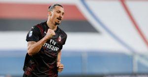 AC Milan Negosiasi Kontrak Baru Zlatan Ibrahimovic