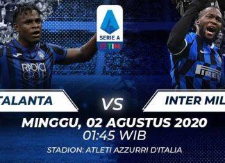 Prediksi Bola Atalanta vs Inter Milan 02 Agustus 2020 Serie A