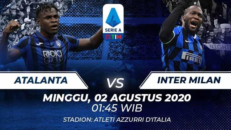 Photo of Prediksi Bola Atalanta vs Inter Milan 02 Agustus 2020 Serie A