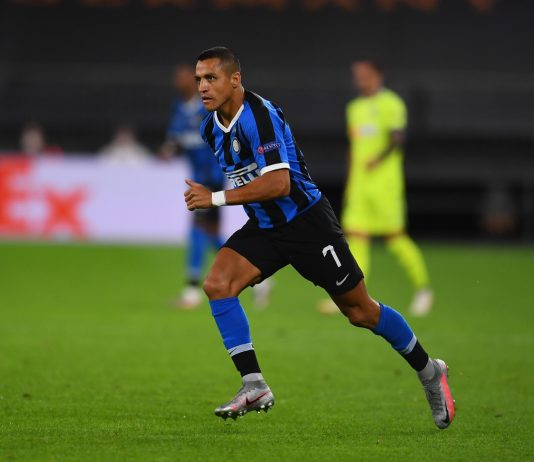 Alexis Sanchez Bertahan di Inter Milan