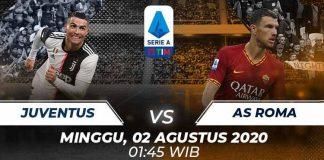 Prediksi Bola Juventus vs AS Roma 02 Agustus 2020 Serie A