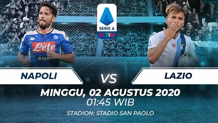 Photo of Prediksi Bola Napoli vs Lazio 02 Agustus 2020 Serie A