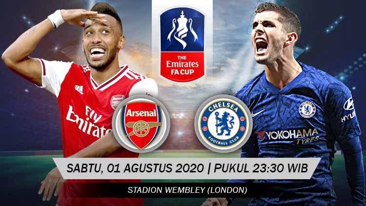 Photo of Final Piala FA, Prediksi Arsenal vs Chelsea 01 Agustus 2020