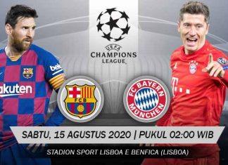 Prediksi Bola Barcelona vs Bayern Munchen 15 Agustus 2020 Liga Champions Babak Perempat Final