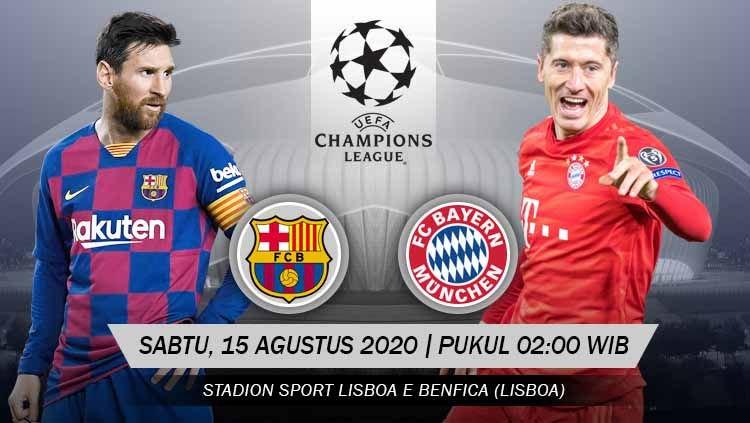 Photo of Prediksi Bola Barcelona vs Bayern Munchen 15 Agustus 2020 Liga Champions Babak Perempat Final