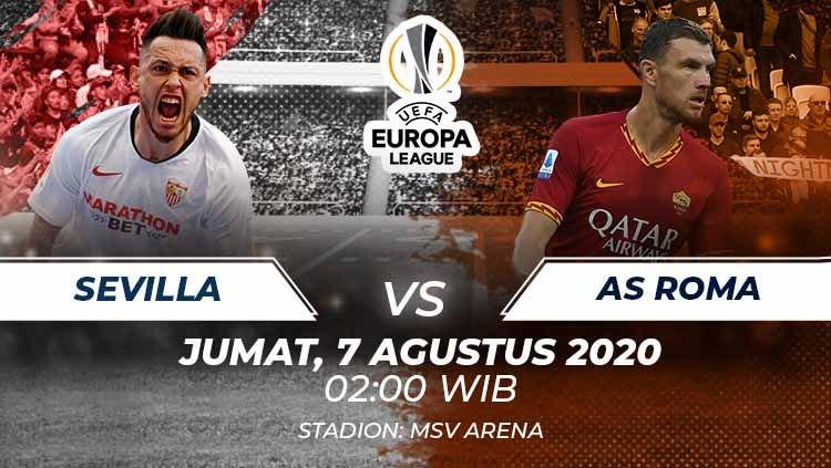 Prediksi Bola Sevilla vs AS Roma 07 Agustus 2020, Liga Europa Babak 16 Besar