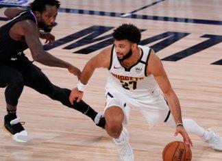 Jamal Murray (kanan) menyumbang 27 poin dan 6 assist untuk membantu Denver Nuggets mengalahkan LA Clippers pada game kedua semifinal Wilayah Barat NBA.