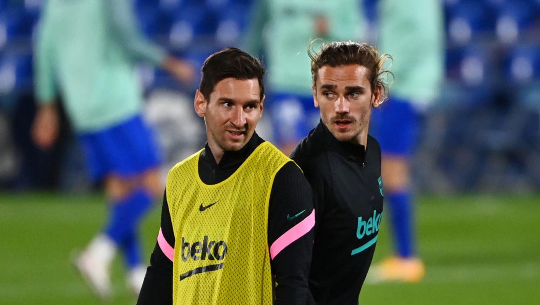 Antoine Griezmann tanggapi Kabar Tak Akur bersama dengan Lionel Messi 3