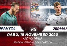 Prediksi Bola Spanyol vs Jerman, UEFA Nations League 18 November 2020