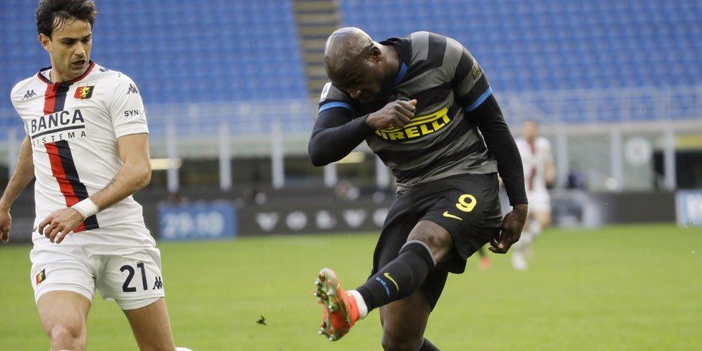 Lukaku Kaget Inter Bisa Duduk Nyaman di Puncak Klasemen Serie A Italia