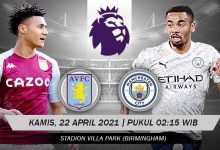 Prediksi Premier League Aston Villa vs Manchester City 10