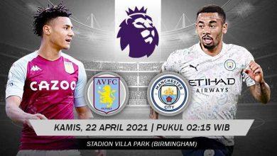 Prediksi Premier League Aston Villa vs Manchester City 6