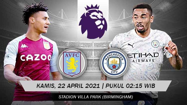 Prediksi Premier League Aston Villa vs Manchester City