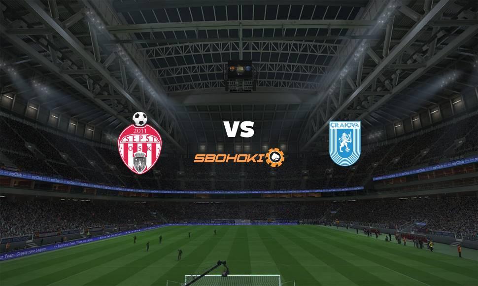 Live Streaming  Sepsi Sfantu Gheorghe vs Universitatea Craiova 5 Mei 2021