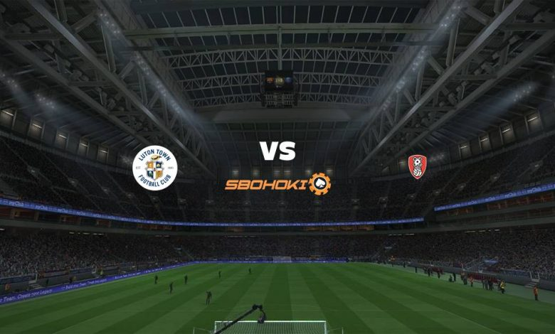 Live Streaming Luton Town vs Rotherham United 4 Mei 2021 1