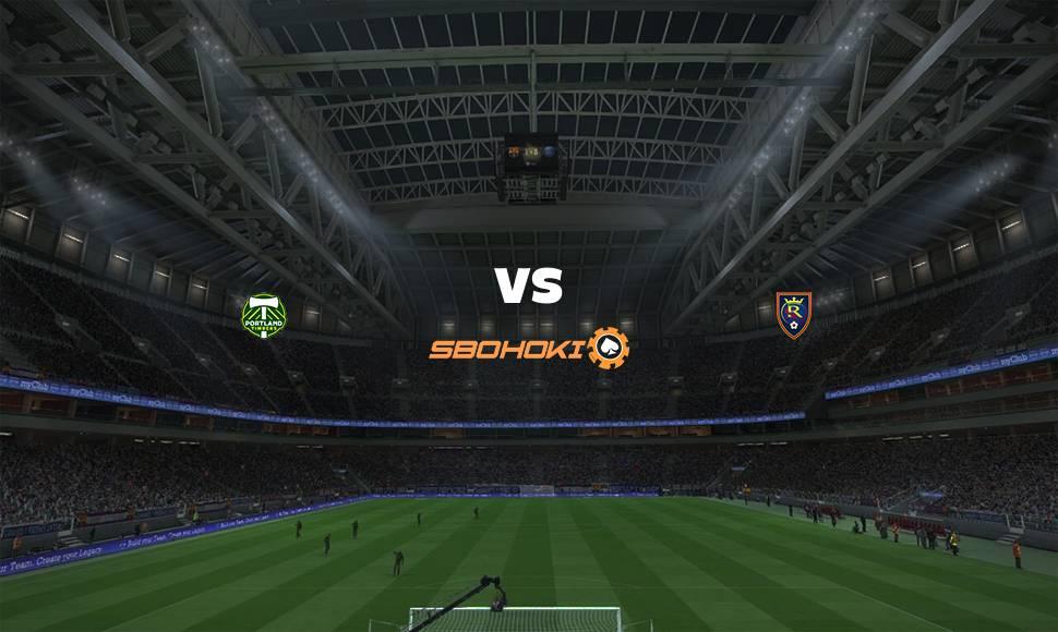 Live Streaming  Portland Timbers vs Real Salt Lake 8 Agustus 2021