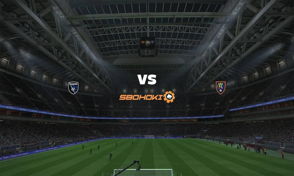 Live Streaming  San Jose Earthquakes vs Real Salt Lake 16 September 2021