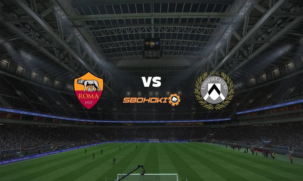 Live Streaming  Roma vs Udinese 23 September 2021