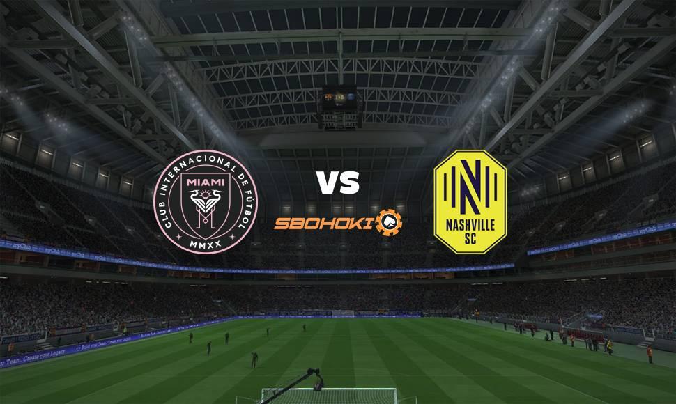 Live Streaming  Inter Miami CF vs Nashville SC 22 September 2021